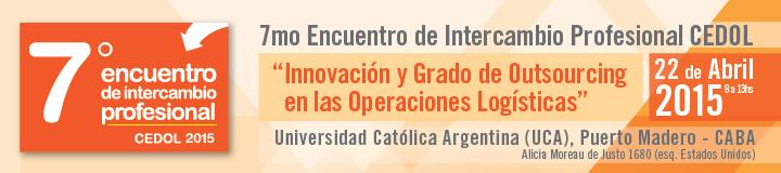 7mo Encuentro de Intercambio Profesional CEDOL - 22 de Abril 2015