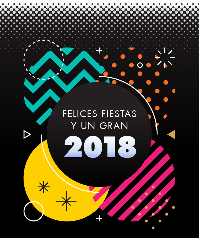 Felices fiestas y un gran año nuevo